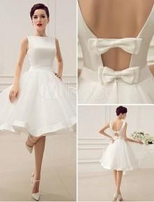 Ślub cywilny :) Jak myślicie może być taka sukienka?
