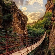 Kanion, Hiszpania