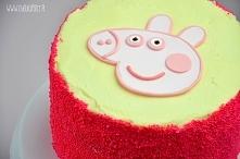 Tort urodzinowy Świnka Peppa - przepis po kliknięciu na zdjęcie :)
