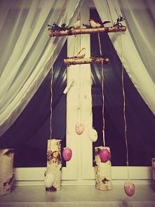 Wielkanocna dekoracja wisząca na okno ;) 35 zł