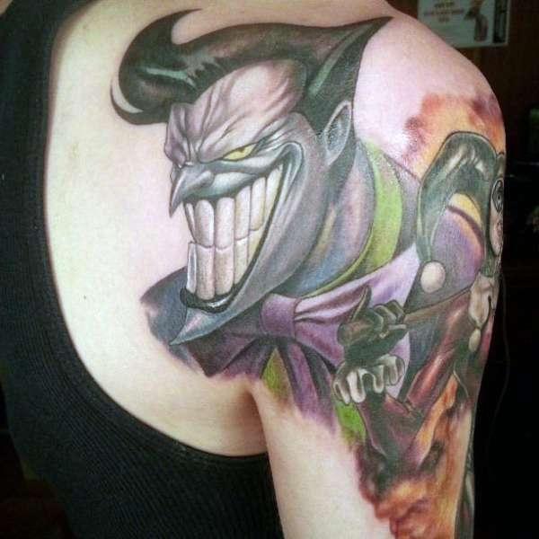 Joker Arm Tattoo Na Tatuaże Zszywkapl