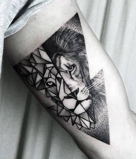 Orygialny Tatuaz Lwa Na Tattoo Zszywkapl