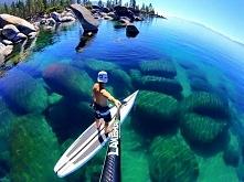 Jezioro, Tahoe Kalifornia