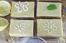 Lekkie ciasto cytrynowe z serem ricotta - krajanka cytrynowa