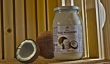 Polecam wysokiej jakości olej kokosowy rafinowany, bezzapachowy marki Intenson - fajna jakość i cena :)