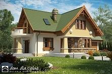 Sójka II - projekt domu z użytkowym poddaszem. Oryginalny wygląd i tradycyjna funkcja. Polecamy.