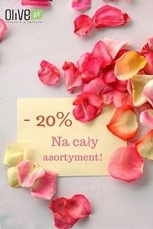 Zrób sobie prezent!  Po więcej szczegółów zapraszamy na naszego facebooka >> Olive.pl