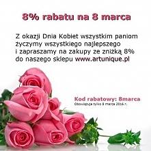 ♡ RABAT na Dzień Kobiet ♡ Zapraszamy do naszego sklepu :D ARTUNIQUE.PL