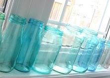 DIY blue jar