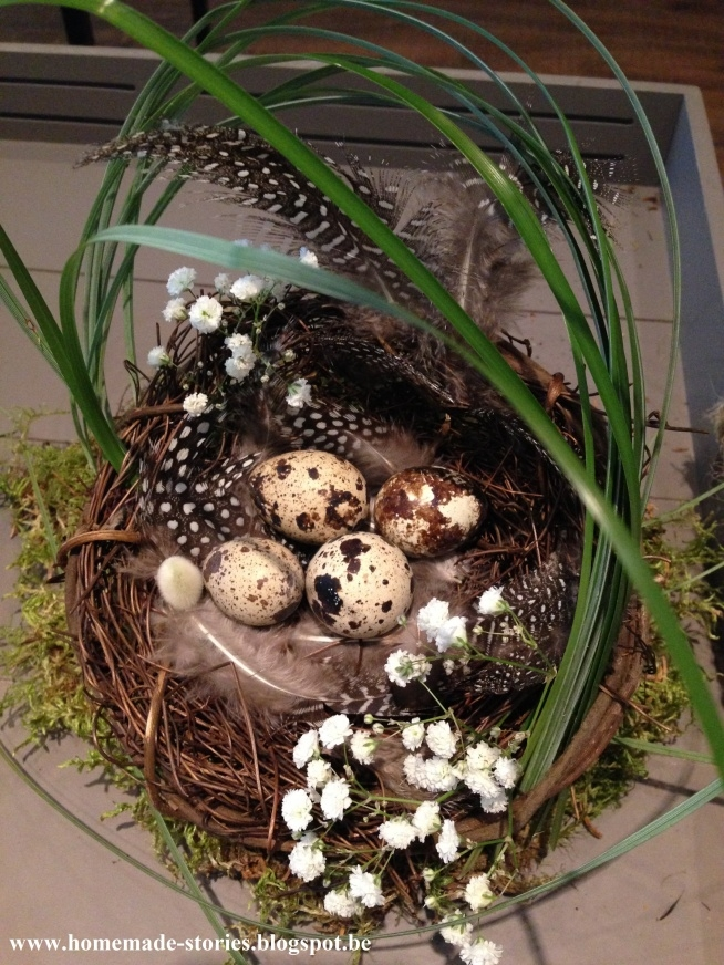 Dekoracje Wielkanocne już są obecne u mnie w domu! Jeżeli zastanawiacie się jak stworzyć o to takie cudeńka to zapraszam do mnie na bloga! homemade-stories.blogspot.be