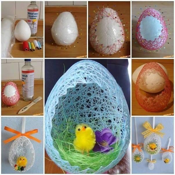 Wielkanocne Inspiracje Na Ozdoby Na świąteczne Inspiracje Zszywkapl