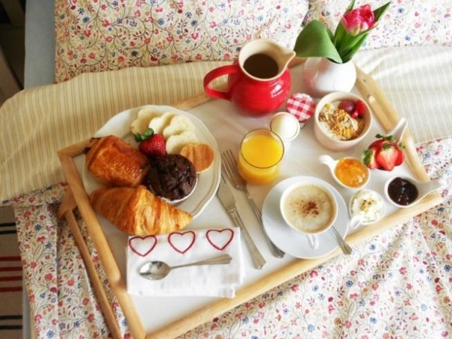 Piękne śniadanie Do łóżka Na Pomysły Zszywkapl