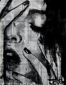 Sztuka to uczucie przedstawione na płótnie.