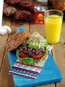 Burgery buraczane (wegańskie) - przepis po kliknięciu w zdjęcie