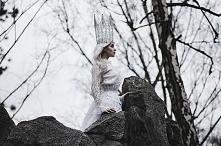 współpraca z Silverrr i Madame Dentelle, jak zawsze piękne zdjęcia  Photo: Madame Dentelle Model: Silverrr Make up: Marta Buchholz Crown: Jolanta Orzełek - szydełko i haft Corse...