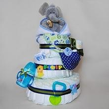 Tort pieluszkowy na narodzi...