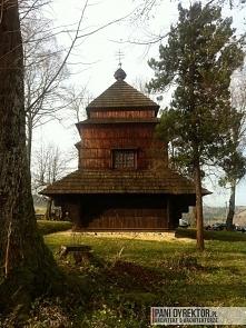 Drewniana cerkiew w Smolnik...