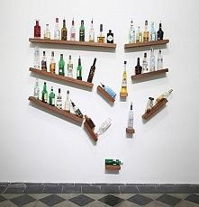 Niezwykła, śmieszna inspiracja! Co powiesz na miejsce na alkohol w takim styl...