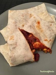 Meksykańskie tortille na obiad! Klik w zdjęcie po przepis!
