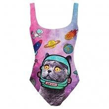 Body Fullprint Kosmiczny Kot