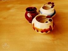 Porcelanowe wazoniki