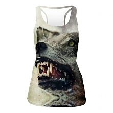 Top Tank Angry Wolf