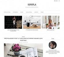 Super szablon na bloga blogspot, czyli Blogger