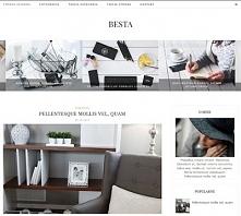Szablon na bloga Blogger (Blogspot) BESTA