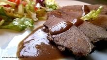 Przepyszne danie z dziczyzny podane w bardzo aromatycznym sosie, ciekawa propzycja na swiateczny obiad.
