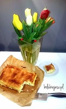 Cudowne ciasto genialne w swej prostocie...  A'la napoleonka serowa...  ...