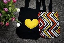 DIY torby na zakupy :)
