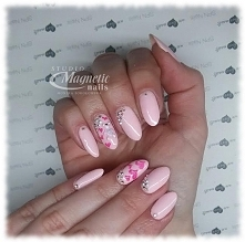 Call my baby + misiek malowany nowymi farbkami SPN   Nails by Monika, Studio ...