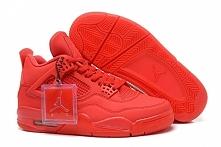 """""""Red October"""" Nike Air Jordan IV(4) in All Red for Mens 41441"""