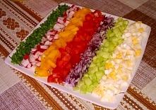 Wiosenna sałatka - idealna na wielkanocny stół :)