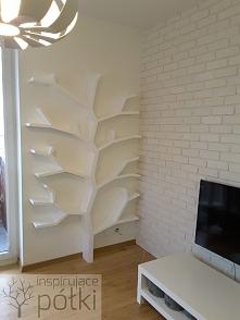 Półka drzewo 210x130cm Wykonuje na zamówienie kontakt marcin.stelma@gmail.com