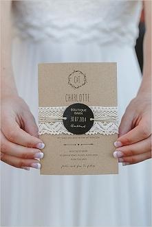 Przegląd ślubnych zaproszeń - u nas na blogu! Klik w obrazek!