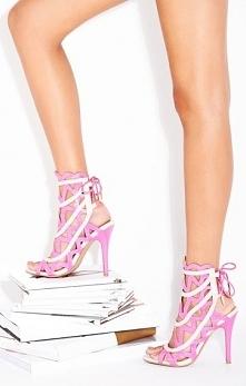szpilki,pink