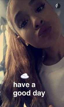 have a good day With Ariana...