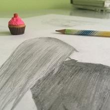 Rysowanie.. Dla ciebie- zwykłe kreski na papierze Dla mnie- całe życie i moje...