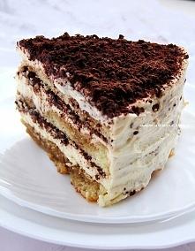 Tort Tiramisu biszkopt: 5 jajek 3/4 szklanki cukru 3/4 szklanki mąki pszennej...
