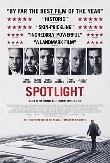 """""""Spotlight""""  """"Spotlight"""" to filmowy zapis wstrząsającej historii, która miała miejsce naprawdę. Nagrodzeni Pulitzerem dziennikarze śledczy gazety """"Bosto..."""