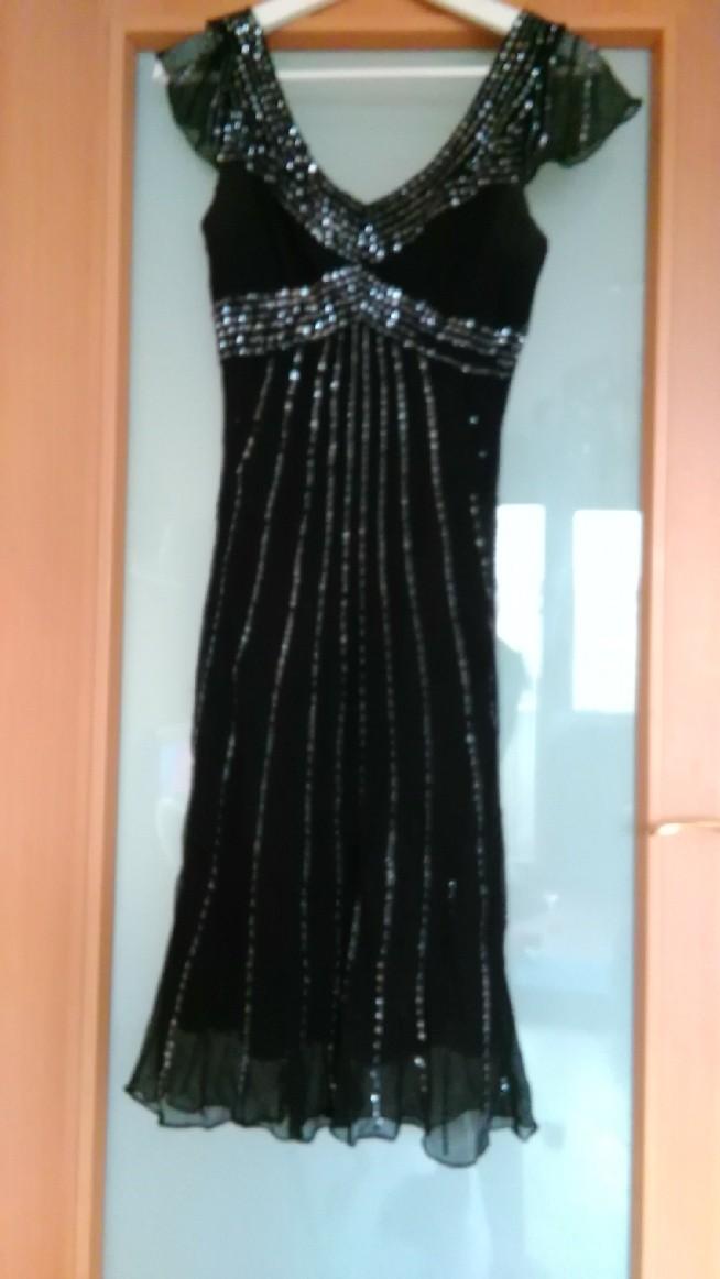 Sukienka wieczorowa Ewa Minge. Cena sklepowa 500zl. Cena moja 100zl. Rozmiar M.