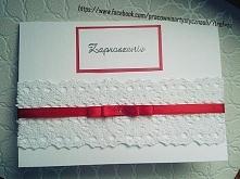 Zaproszenie na Ślub :) dostęna różna kolorystyka :)