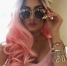 pink hair ♡