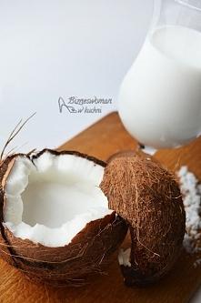 Domowe mleko kokosowe z 2 s...