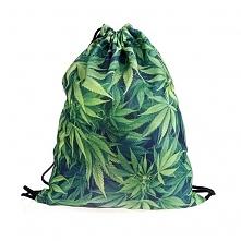 Worek Fullprint Black Weed