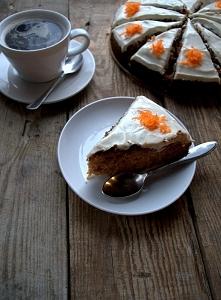 ... ciasto marchewkowe ...