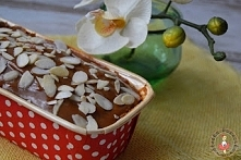 babka kakaowa z polewą krówkową