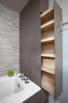 pomysł na półeczki do łazienki