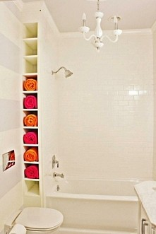 kolejny pomysł na półki do łazienki